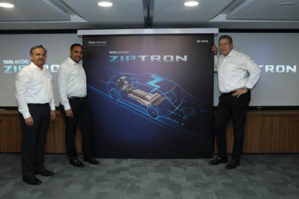 Tata Motors ZIPTRON team