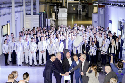 Volkswagen Group starts battery cell development and production