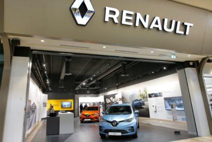 2019 - Renault City concept store
