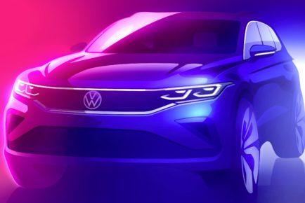 Volkswagen Tiguan teaser
