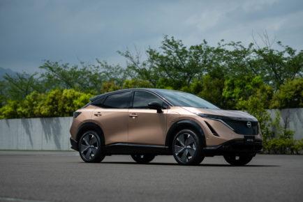 Nissan Ariya front quarter_2
