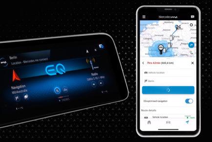 Von der App zum digitalen Ökosystem: Die neue Generation der Mercedes me Apps  geht an den StartFrom the app to the digital ecosystem: the new generation of Mercedes me Apps launches