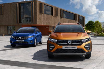 2020a - Novi Dacia SANDERO in SANDERO STEPWAY