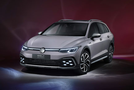 The new Volkswagen Golf Alltrack