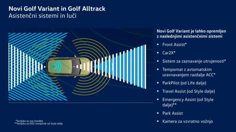 golf asistenčni