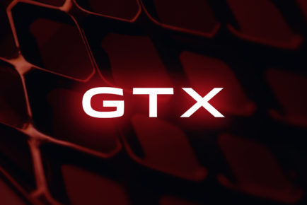 Logo of the new product brand GTX